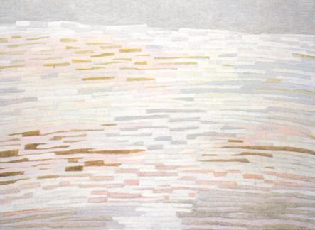 Ville ressuscitée, 1962, huile sur toile. 97 x 130 cm