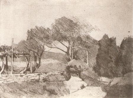 San Vicenzo 1979, eau-forte, 14,5 x 19,5 cm